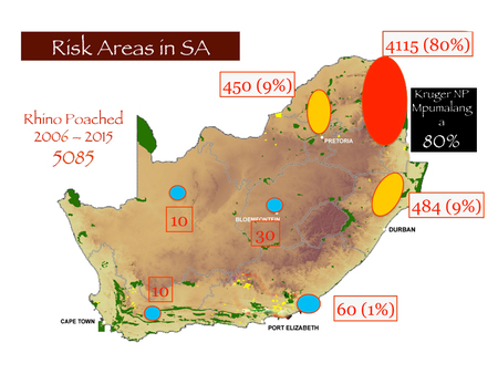 Risk Areas South Africa